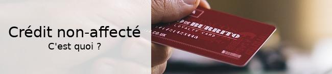credit non affecte
