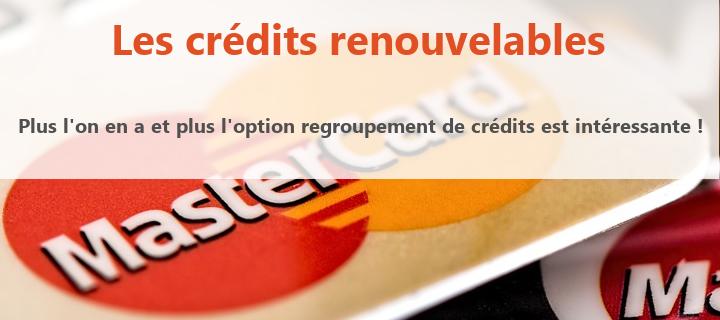 credits renouvelable et rachat