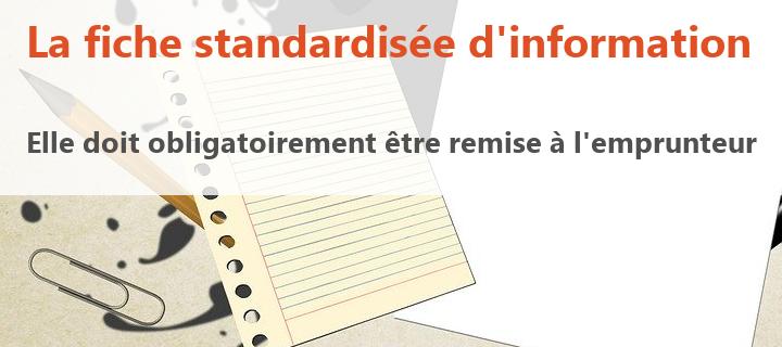 fiche standardisee